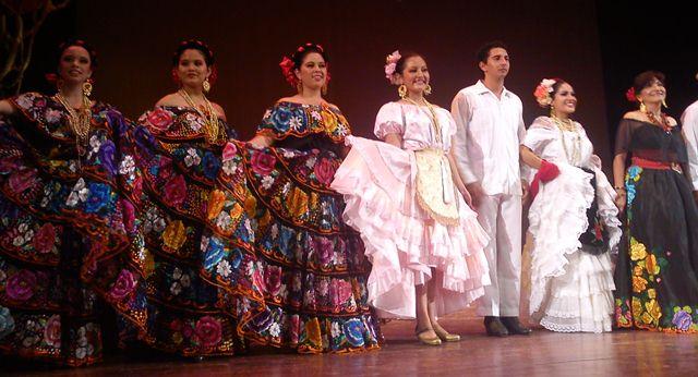 Se Realiz 243 El Festival De Danza Folkl 243 Rica Todo Chiapas