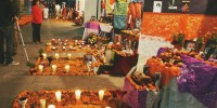 Altares de muertos en Chiapas