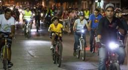 """Se llevará a cabo la edición número 50 del """"Paseo Nocturno en Bici"""""""